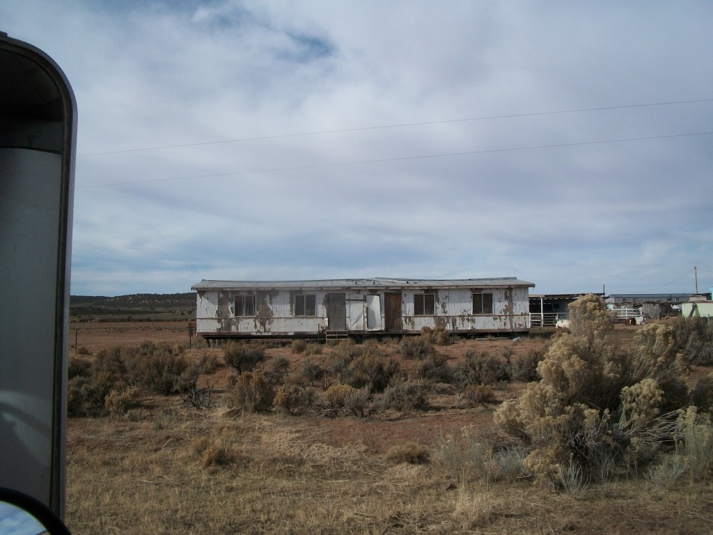 A home on the Navajo rez