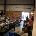 Tribal volunteers helping those in need