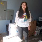 We raise our hands in thanks and prayer to our sister Jordan who volunteered to help us get things ready for Rosebud
