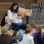 """On Friday, February 6, 70 students, ages 4-7, participated in various """"Native American"""" activities. The main goal of the day was for them to give back to those in need with certain activities pertaining to the Native American culture."""